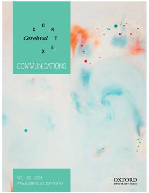 Cerebral Cortex Communications