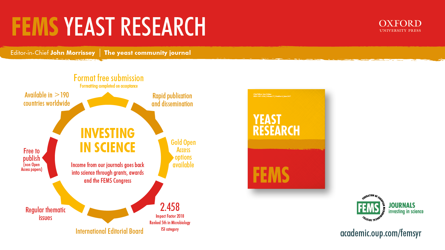 About Fems Yeast Research Oxford Academic